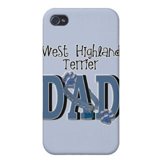West Highland Terrier DAD Case For iPhone 4