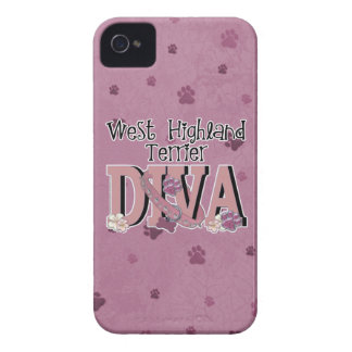West Highland Terrier DIVA iPhone 4 Case-Mate Case