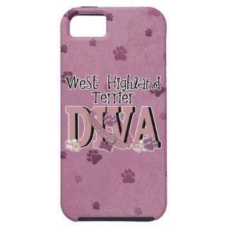 West Highland Terrier DIVA iPhone 5 Case