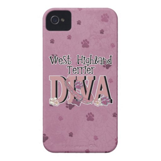 West Highland Terrier DIVA Blackberry Bold Covers