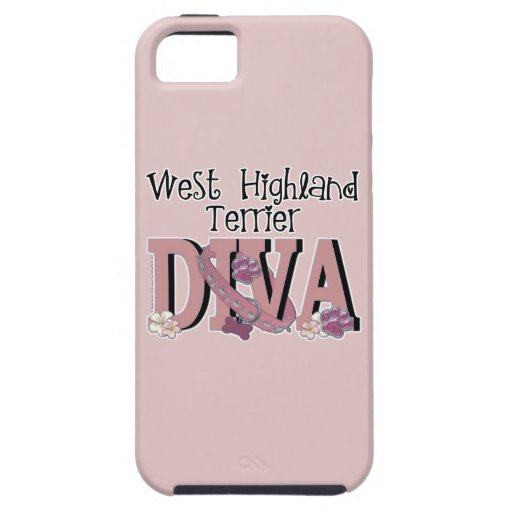 West Highland Terrier DIVA iPhone 5 Cover