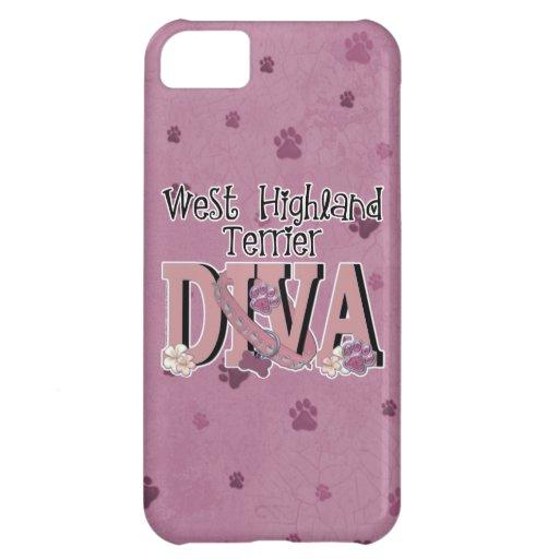 West Highland Terrier DIVA Case For iPhone 5C