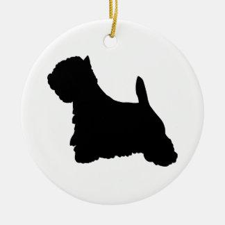 West Highland Terrier Dog Christmas Ornament