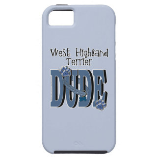 West Highland Terrier DUDE iPhone 5 Cover