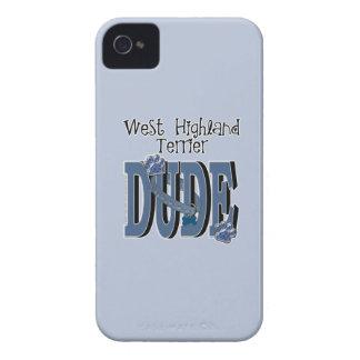West Highland Terrier DUDE Case-Mate iPhone 4 Case