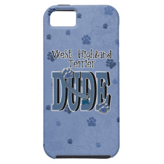 West Highland Terrier DUDE Case For The iPhone 5