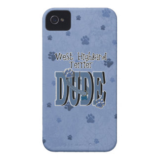 West Highland Terrier DUDE iPhone 4 Cover
