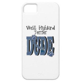 West Highland Terrier DUDE iPhone 5 Case