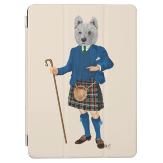 West Highland Terrier in Kilt 2 iPad Air Cover