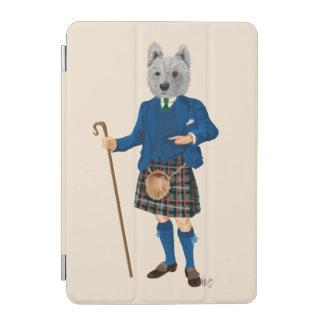 West Highland Terrier in Kilt 2 iPad Mini Cover