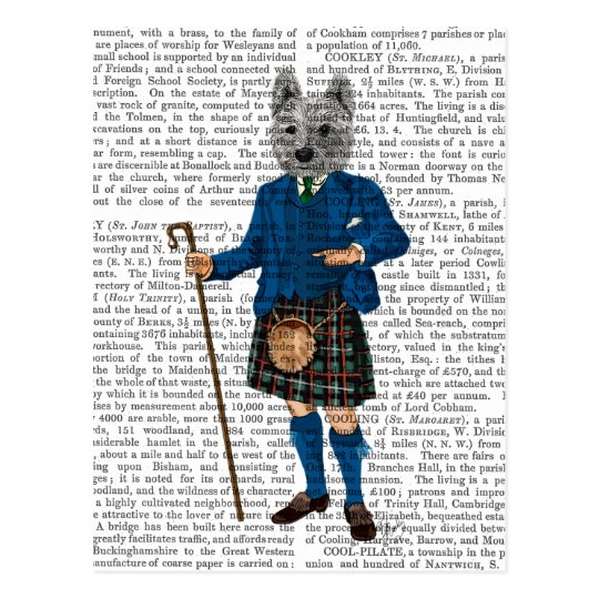 West Highland Terrier in Kilt 3 Postcard