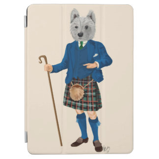 West Highland Terrier in Kilt iPad Air Cover