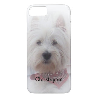 West Highland Terrier Just Add Name iPhone 8/7 Case
