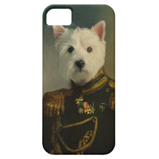 West Highland Terrier Military Portrait iPhone 5 Cover