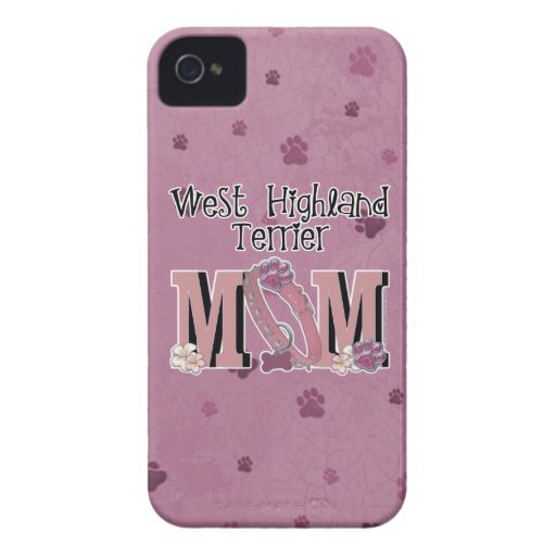 West Highland Terrier MOM iPhone 4 Cover