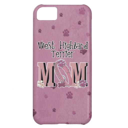 West Highland Terrier MOM iPhone 5C Cover