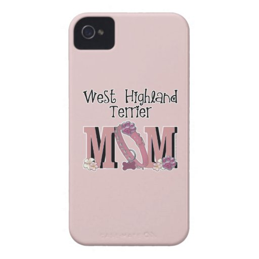 West Highland Terrier MOM Case-Mate iPhone 4 Case