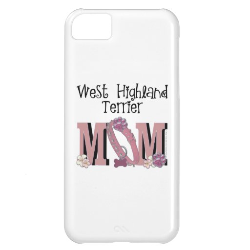 West Highland Terrier MOM iPhone 5C Case