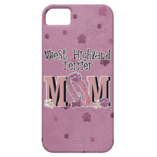 West Highland Terrier MOM Case For The iPhone 5