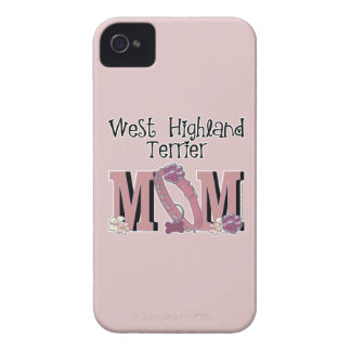 West Highland Terrier MOM iPhone 4 Cases