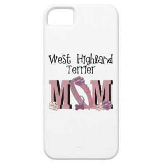 West Highland Terrier MOM iPhone 5 Covers