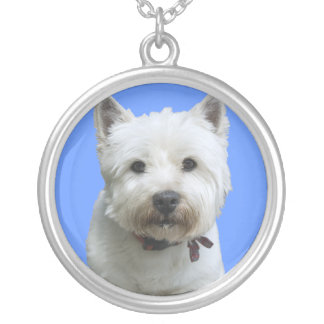 West Highland Terrier Silver necklace