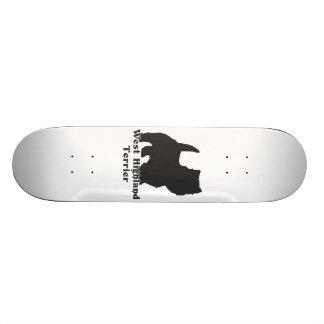 West Highland Terrier Skate Board Deck