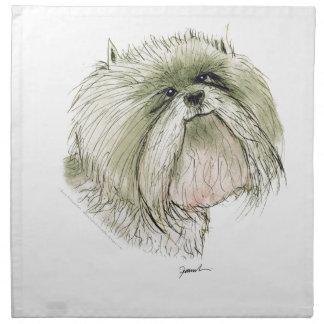 West Highland Terrier, tony fernandes Napkin