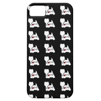 West Highland Terrier (Westie) Love iPhone 5 Cases