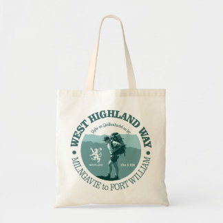 West Highland Way Budget Tote Bag