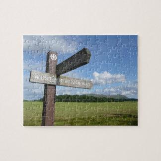 West Highland Way Sign Jigsaw Jigsaw Puzzle