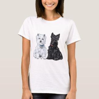 West Highland White & Scottish Terriers T-Shirt