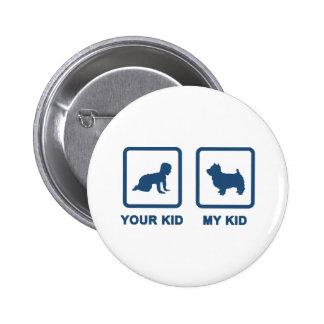 West Highland White Terrier 6 Cm Round Badge