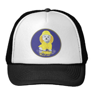 West Highland White Terrier April Showers Cap