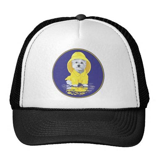 West Highland White Terrier April Showers Trucker Hats