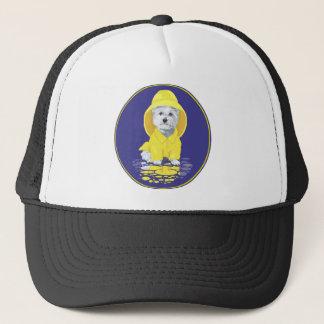 West Highland White Terrier April Showers Trucker Hat