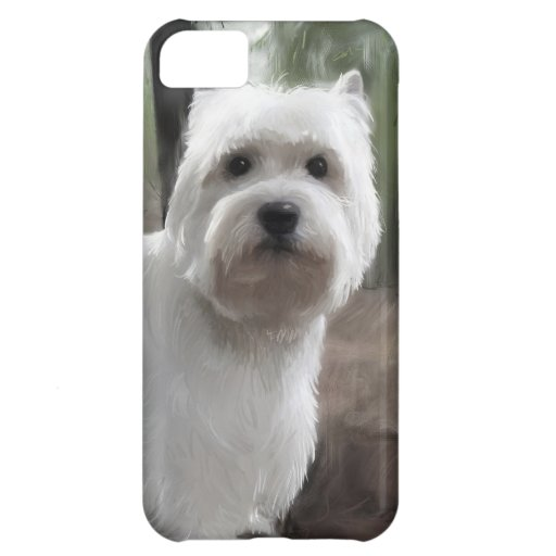 West Highland White Terrier Cover For iPhone 5C