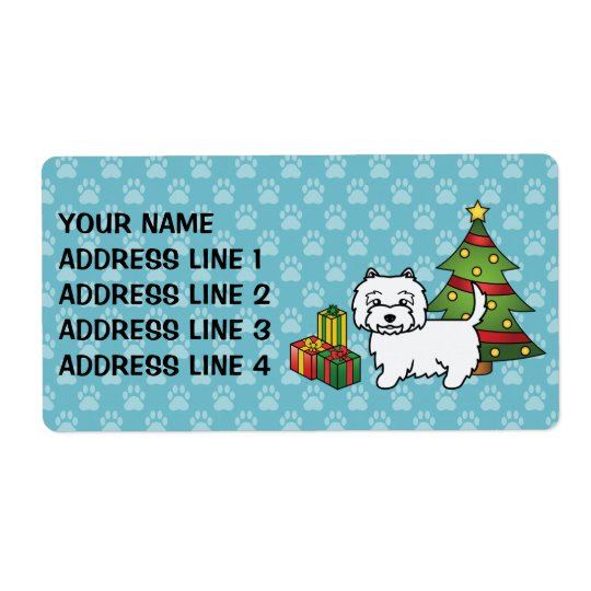 West Highland White Terrier Christmas