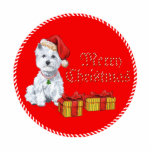 West Highland White Terrier Christmas Gifts Photo Cut Out