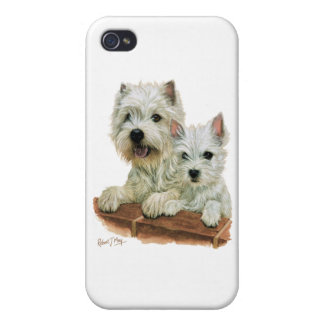 West Highland White Terrier Cover For iPhone 4