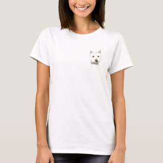 West Highland White Terrier Dog T-Shirt