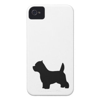 West Highland White Terrier dog, westie silhouette iPhone 4 Case-Mate Case