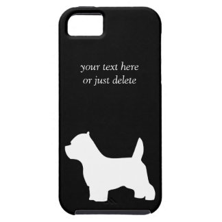 West Highland White Terrier dog westie silhouette iPhone 5 Covers