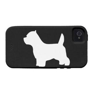 West Highland White Terrier dog westie silhouette iPhone 4/4S Case