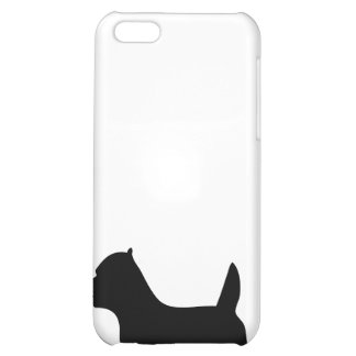 West Highland White Terrier dog, westie silhouette iPhone 5C Covers