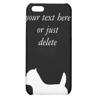 West Highland White Terrier dog, westie silhouette iPhone 5C Cover