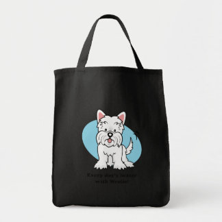West Highland White Terrier Gifts and Merchandise Canvas Bag