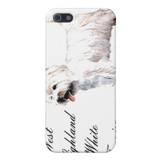 West Highland White Terrier iPhone Case iPhone 5 Covers