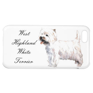 West Highland White Terrier iPhone Case Cover For iPhone 5C