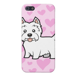 West Highland White Terrier Love (add a pern) iPhone 5/5S Cases